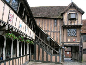 Lord Leycester Hospital - Courtyard of the Hospital