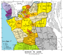 Kingdom of Kongo - Wikipedia on kingdom of bhutan map, kingdom of germany map, kingdom of ethiopia map, kingdom of kush map, grand duchy of tuscany map, kingdom of congo, kingdom of russia map, kingdom of poland map, kingdom of armenia map, kingdom of cyprus map, ancient kongo kingdom map, kingdom of albania map, union of soviet socialist republics map, kingdom of ndongo map, kingdom of madagascar map, kingdom of benin map, kingdom of georgia map, new kingdom of egypt map, kongo empire map, kingdom of rwanda map,