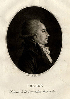 Louis-Marie Stanislas Fréron French politician and journalist