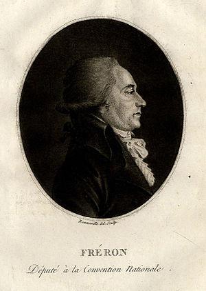 Louis-Marie Stanislas Fréron - Image: Louis Marie Stanislas Fréron (1754 1802), French revolutionary (small)