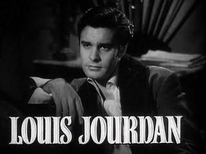 Louis Jourdan - Jourdan in Madame Bovary trailer, 1949