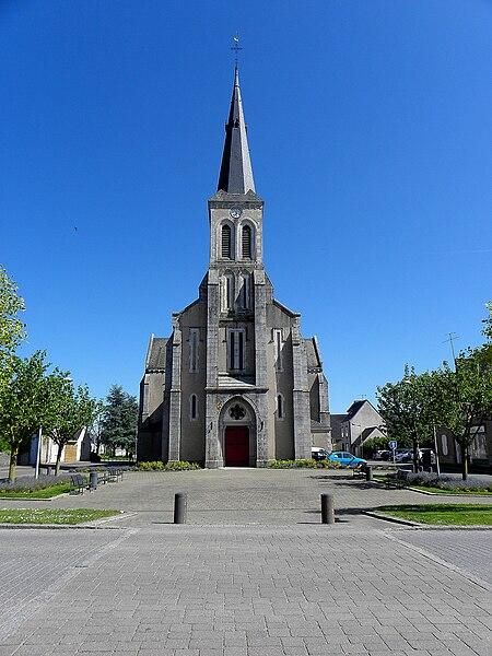 Église Saint-Martin de Louverné (53).