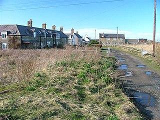 Low Hauxley Human settlement in England