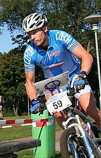 Lubomír Tomeček Czech mountain bike orienteer