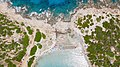 Luftbild vom Strand Punta Molentis auf Sardinien, Italien (48399128581).jpg