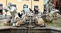 Luigi amici, tritoni e mascheroni della fontana del moro, copia da giacomo della porta, 1874, 17.jpg