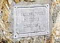 Luxembourg, 1re Porte de Trèves - Dinselpaart (inscription).jpg
