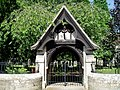Lych Gate at St Mary Magdelene Mitford - geograph.org.uk - 1439699.jpg