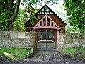 Lych gate, English Martyrs RC Church - geograph.org.uk - 431479.jpg