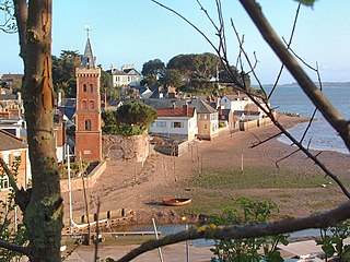 Lympstone village in United Kingdom