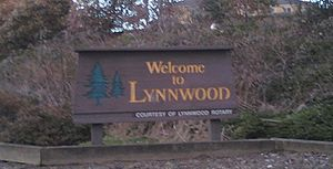 Lynnwood, Washington - Image: Lynnwoodwelcome