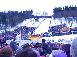 Willingen - Mühlenkopfschanze at World Cup 2002