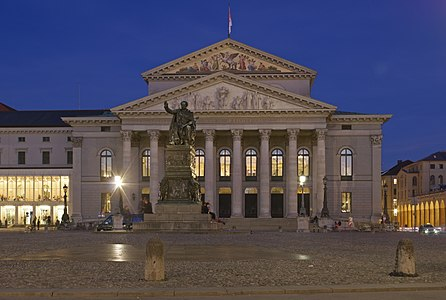 Germany, Munich, Nationaltheater