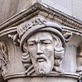 Münster, Historisches Rathaus, Säule mit Wiedertäufern -- 2020 -- 9330.jpg