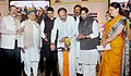 M. Venkaiah Naidu lighting the lamp at the Listing Ceremony of the Municipal Bonds of Pune Municipal Corporation, at the BSE, in Mumbai.jpg