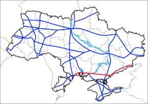 Highway M14 (Ukraine) - Image: M14 (Ukraine)