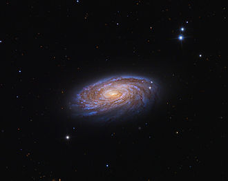 Messier 88 - Messier 88 seen by the 24 inch telescope on Mt. Lemmon, USA.
