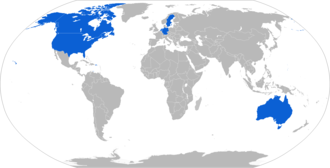 M982 Excalibur - Map with M982 operators in blue