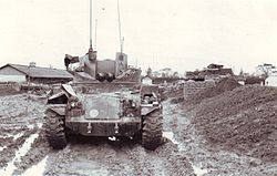 MACV Compound Duster Post-Tet Feb., 1968