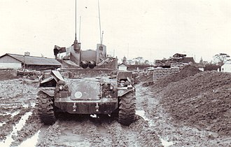 M42 Duster - M42 Duster, MACV compound at Quảng Trị City, February 1968.