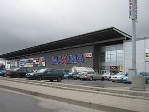 Maxima Group - Maxima XXX store in Kaunas.