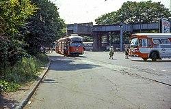 MBTA 3202 at Arborway in 1967.jpg