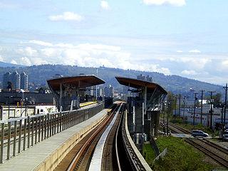 Renfrew station Metro Vancouver SkyTrain station