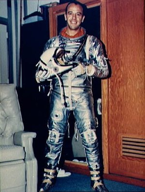 MR-3 pilot Alan B. Shepard Jr.