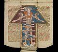 MS. 8932. Medieval folding almanac (15th century) Wellcome L0075678.jpg