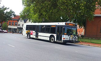 Neoplan USA - A Diesel-powered AN440LF low-floor of MTA Maryland in Annapolis, Maryland
