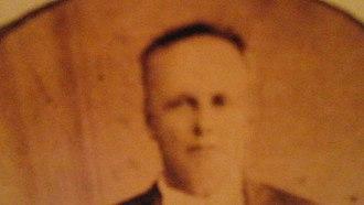Santos Benavides - Copy of Santos Benavides photograph in the Republic of the Rio Grande Capitol Building Museum in Laredo