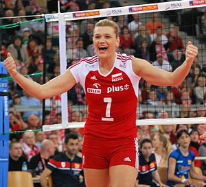 Małgorzata Glinka-Mogentale 05 - FIVB World Championship European Qualification Women Łódź January 2014.jpg