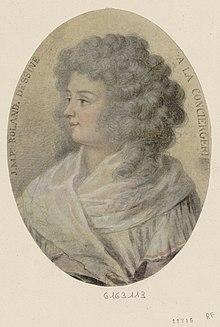 08 novembre 1793 (18 Brumaire): Exécution de Madame Roland 220px-Madame_Roland_Conciergerie