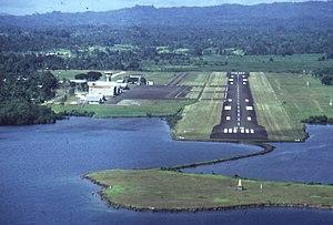 Madang Airport - Image: Madang (Flughafen)