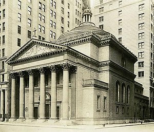 Madison Square Presbyterian Church, New York City (1906) - Image: Madison Square Presbyterian Church (1906) crop