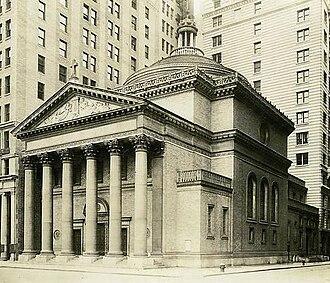 Madison Square Presbyterian Church, New York City (1906) - Image: Madison Square Presbyterian Church (1906) crop