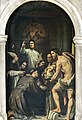 Madonna dell'Orto (Venice) - Chapel of scuola dei Forneri - St Lawrence Giustiniani ands saints.jpg