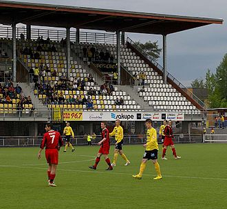 Kuopio Football Stadium - Image: Magnum Areena Kuopio 2007