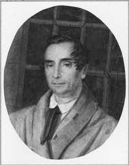 Magnus Jakob Crusenstolpe, 1795-1865, gift med Sofia Palmstruch