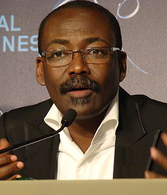 Mahamat Saleh Haroun - Haroun at the 2010 Cannes Film Festival