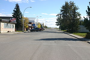 Wildwood, Alberta - Main Street