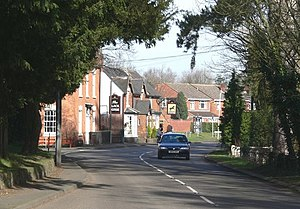 Sheepy - Image: Main Road in Sheepy Magna, Leicestershire geograph.org.uk 685168
