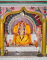 Main Statue of Shree Shree 108 Shree Bishwakarma Baba in Bishwakarma temple Rajbiraj --7005.JPG