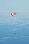 Main parachutes open on Orion EFT-1.jpg