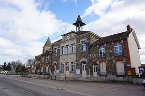 Beine-Nauroy - Image: Mairie 07588