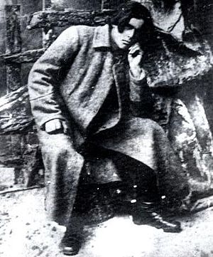 Anarchy - Nestor Makhno (1918), the leader of the Anarchist Free Territory in Ukraine during the Russian Civil War.