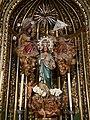 Malaga ig Sn Juan Bautista f10.3 -Ntra Sra de la las Tres Avemarias en capilla homonima.jpg