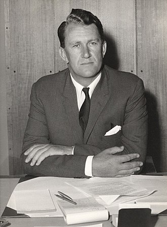 Malcolm Fraser - Fraser as Minister for the Army in 1966.