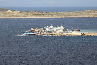 Gozo Channel Line - Ċirkewwa Harbour