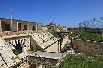 Fort Madalena - Entrance to Fort Madliena